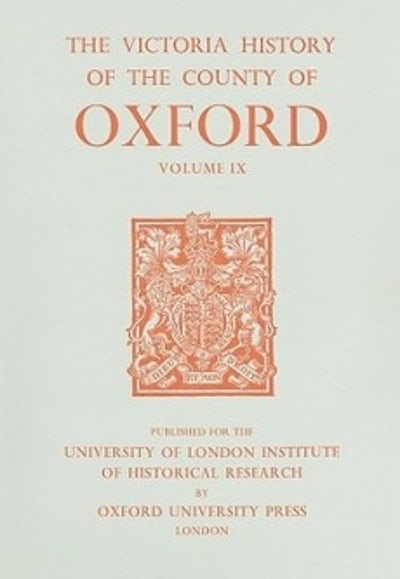 A History of the County of Oxford