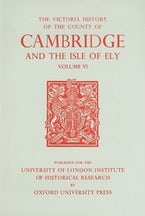 A History of the County of Cambridge and the Isle of Ely