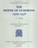The History of Parliament: The House of Commons, 1509-1558 [3 vols]