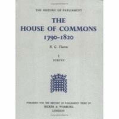 The History of Parliament: the House of Commons, 1790-1820 [5 vols]