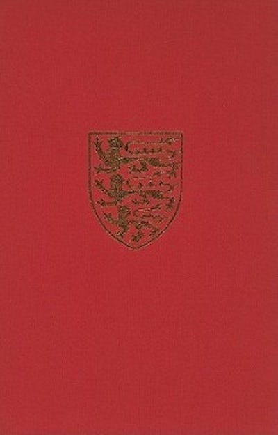Index to The Victoria History of the County of York
