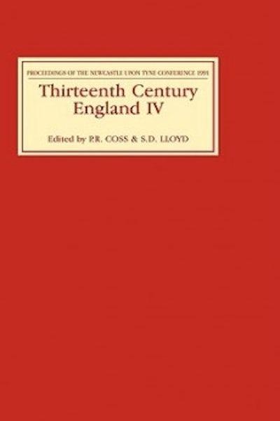 Thirteenth Century England IV