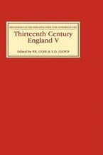 Thirteenth Century England V