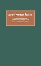 Anglo-Norman Studies XVIII