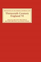 Thirteenth Century England VI
