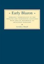 Early Blazon