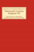 Thirteenth Century England VII