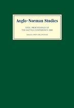 Anglo-Norman Studies XXIII