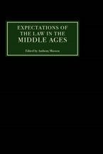 Expectations of the Law in the Middle Ages