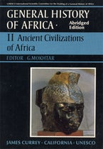 General History of Africa volume 2 [pbk abridged]