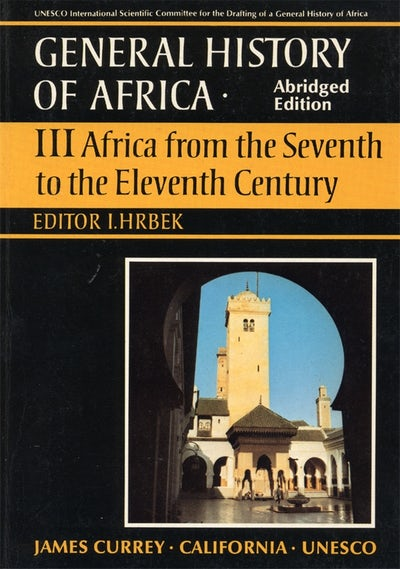 General History of Africa volume 3 [pbk abridged]