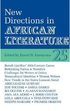 ALT 25 New Directions in African Literature
