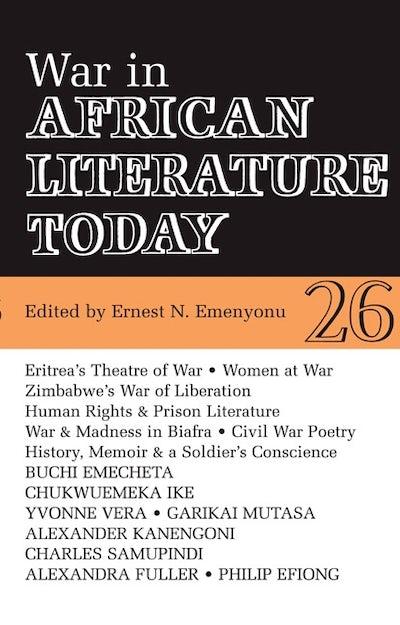 ALT 26 War in African Literature Today