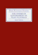 The Theme of Government in Piers Plowman