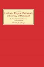 Historia Regum Britannie of Geoffrey of Monmouth II