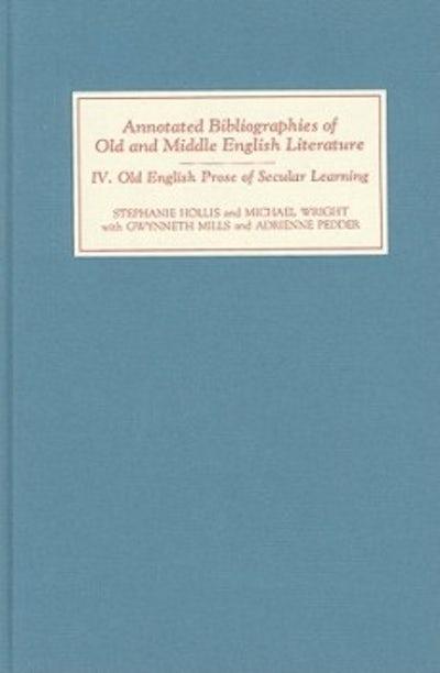 Old English Prose of Secular Learning