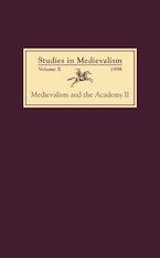 Studies in Medievalism X (1998)