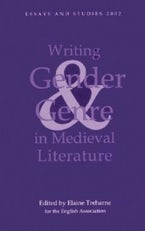 Writing Gender and Genre in Medieval Literature