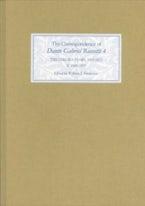 The Correspondence of Dante Gabriel Rossetti 4