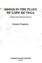 Songs in the Plays of Lope de Vega