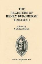 The Registers of Henry Burghersh 1320-1342