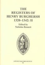 The Registers of Henry Burghersh 1320-1342