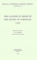 The Caption of Seisin of the Duchy of Cornwall 1337