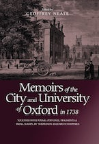 Memoirs of the City and University of Oxford in 1738