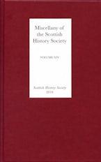 Miscellany of the Scottish History Society, volume XIV