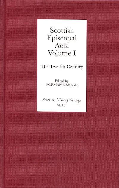 Scottish Episcopal Acta