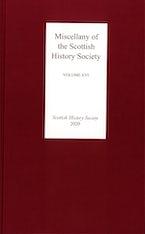 Miscellany of the Scottish History Society, volume XVI