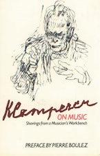 Klemperer on Music