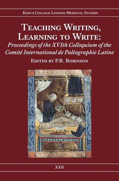 Teaching Writing, Learning to Write