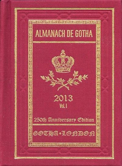 Almanach de Gotha 2013