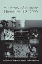 A History of Austrian Literature 1918-2000