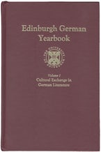 Edinburgh German Yearbook 1