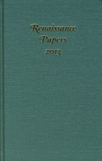 Renaissance Papers 2013