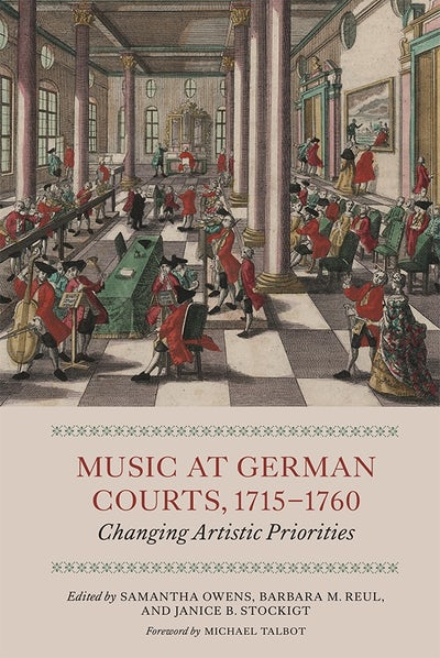 Music at German Courts, 1715-1760