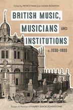 British Music, Musicians and Institutions, c. 1630-1800