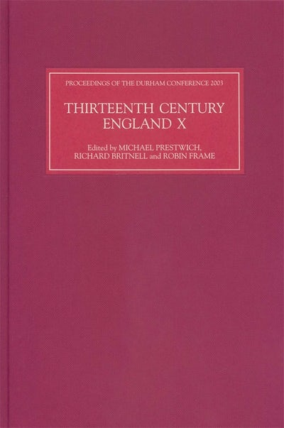 Thirteenth Century England X