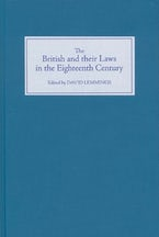 The British and their Laws in the Eighteenth Century