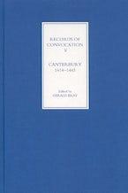 Records of Convocation V: Canterbury, 1414-1443