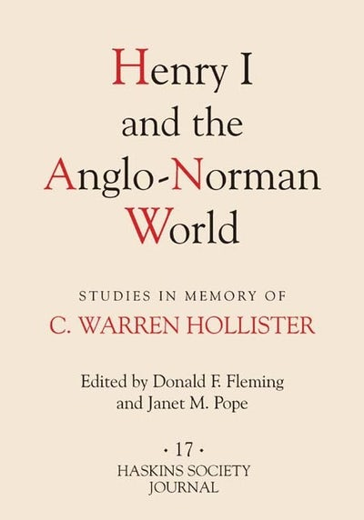 Henry I and the Anglo-Norman World