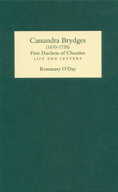 Cassandra Brydges (1670-1735), First Duchess of Chandos
