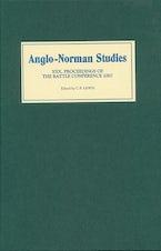 Anglo-Norman Studies XXX