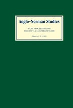 Anglo-Norman Studies XXXI