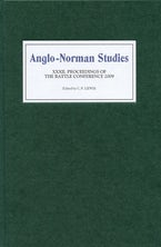 Anglo-Norman Studies XXXII