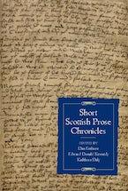 Short Scottish Prose Chronicles