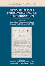 National Prayers: Special Worship since the Reformation