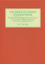The Index of Middle English Prose